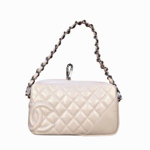 Brand New Chanel Quilted Cambon Clutch Bag SHW